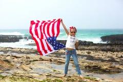 Indicateur américain Photo stock