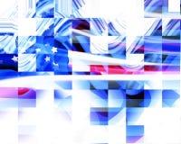 Indicateur américain abstrait illustration libre de droits