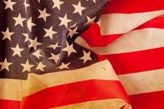 Indicateur américain grunge Photographie stock libre de droits