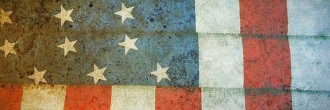 Indicateur américain plié images libres de droits