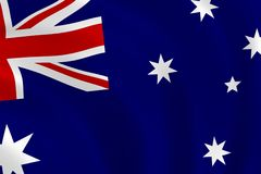 Indicateur australien Images stock