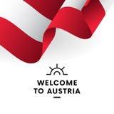 indicateur autrichien Vecteur illustration stock