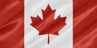 Indicateur canadien - Canada illustration stock