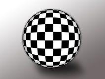 Indicateur Checkered Photographie stock libre de droits