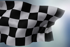indicateur checkered photo stock