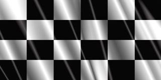 Indicateur Checkered de satin Images libres de droits