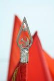 Indicateur communiste soviétique photo libre de droits