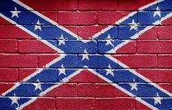 indicateur confédéré photo libre de droits