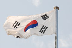 Indicateur coréen Images libres de droits