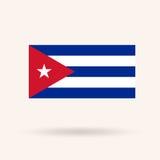 Indicateur cubain illustration stock