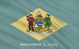 Indicateur d'état du Delaware Photo stock