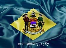 Indicateur d'état du Delaware Photos stock