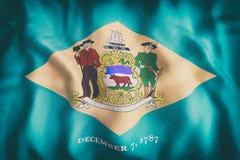 Indicateur d'état du Delaware Photo libre de droits