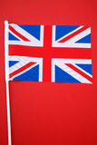 Indicateur d'Union Jack Image stock