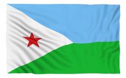 Indicateur de Djibouti Photos stock
