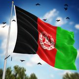 indicateur de l'Afghanistan Images stock