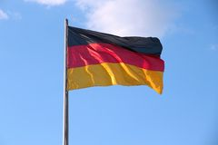 Indicateur de l'Allemagne Images stock