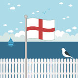 Indicateur de l'Angleterre Photographie stock