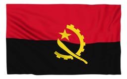 indicateur de l'Angola Photographie stock