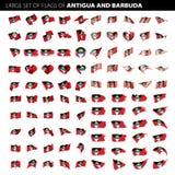 Indicateur de l'Antigua et du Barbuda Photo libre de droits
