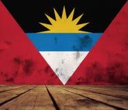 Indicateur de l'Antigua et du Barbuda Photos stock