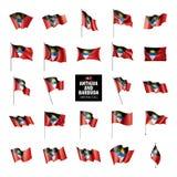 Indicateur de l'Antigua et du Barbuda Photographie stock