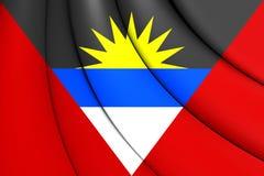 Indicateur de l'Antigua et du Barbuda Image stock