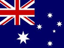 Indicateur de l'Australie illustration de vecteur