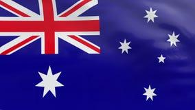 Indicateur de l'Australie banque de vidéos