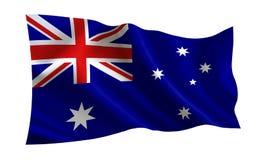 Indicateur de l'Australie Une série de drapeaux de ` du monde ` Le pays - drapeau d'Australie illustration de vecteur