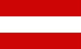 Indicateur de l'Autriche illustration de vecteur