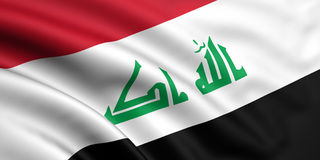 Indicateur de l'Irak Image libre de droits