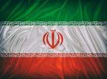 Indicateur de l'Iran illustration stock
