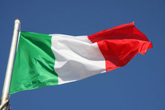 Indicateur de l'Italie images stock