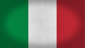 Indicateur de l'Italie illustration stock