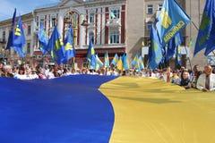 Indicateur de l'Ukraine Image stock