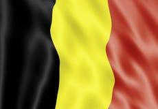 Indicateur de la Belgique Photographie stock libre de droits