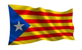 Indicateur de la Catalogne Photo libre de droits