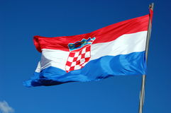 Indicateur de la Croatie Image stock