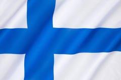 Indicateur de la Finlande Images libres de droits