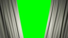 Indicateur de la France animation 3d de s'ouvrir et de rideaux fermants avec le drapeau 4K illustration de vecteur