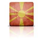 Indicateur de la Macédoine photographie stock