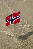 Indicateur de la Norvège Photo stock