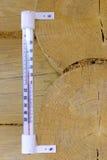 Indicateur de la température Photographie stock libre de droits