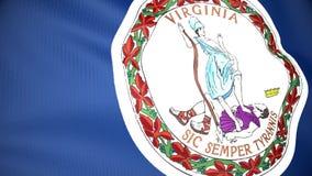 Indicateur de la Virginie illustration de vecteur