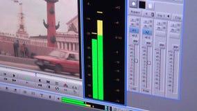 Indicateur de niveau d'un bruit banque de vidéos