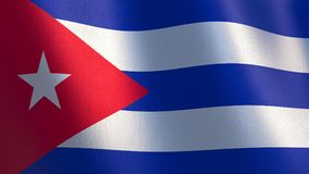 Indicateur de ondulation du Cuba illustration 3D illustration libre de droits