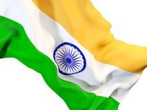 Indicateur de ondulation de l'Inde illustration de vecteur