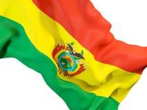 Indicateur de ondulation de la Bolivie illustration de vecteur