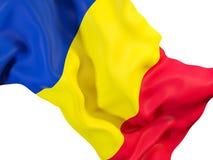 Indicateur de ondulation de la Roumanie illustration de vecteur
